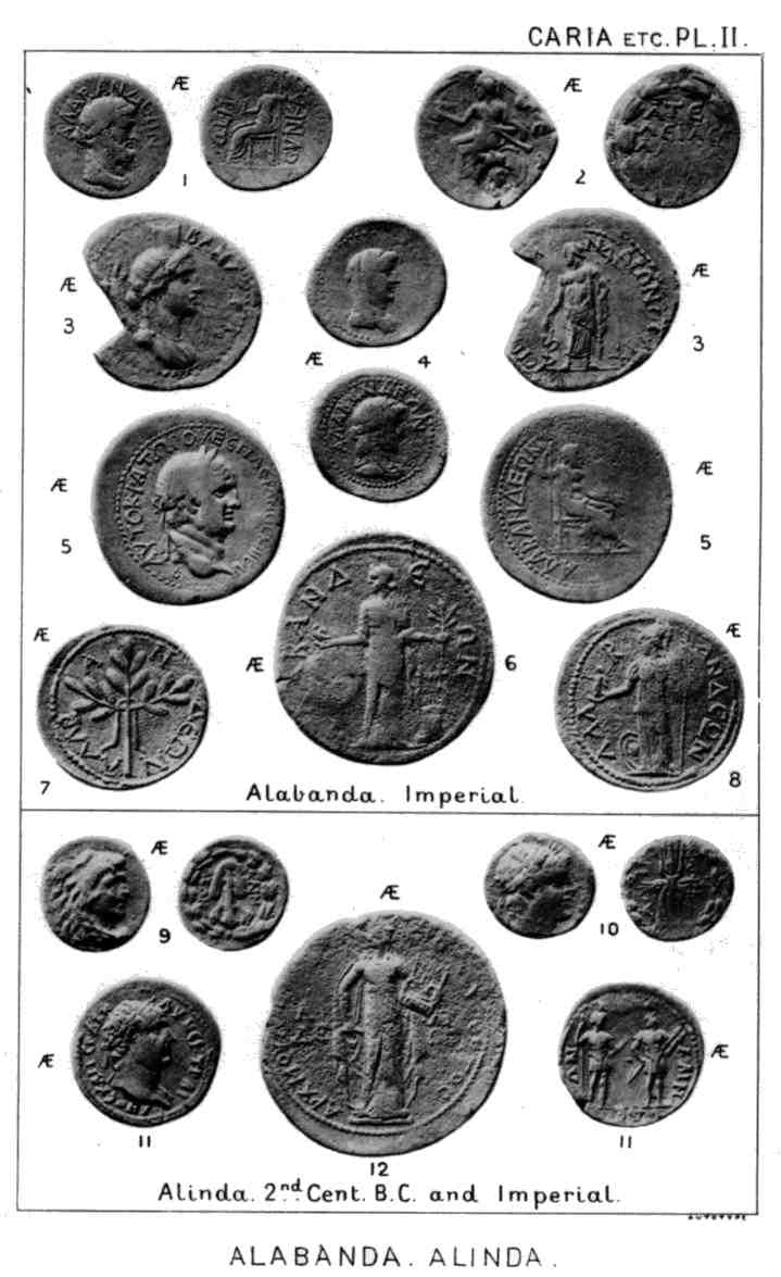Ancient coinage of Caria