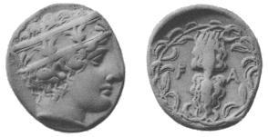 Ancient coins of Peloponnesus